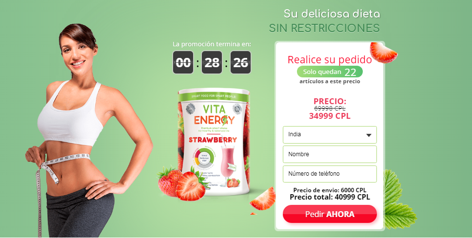 Vita Energy Strawberry