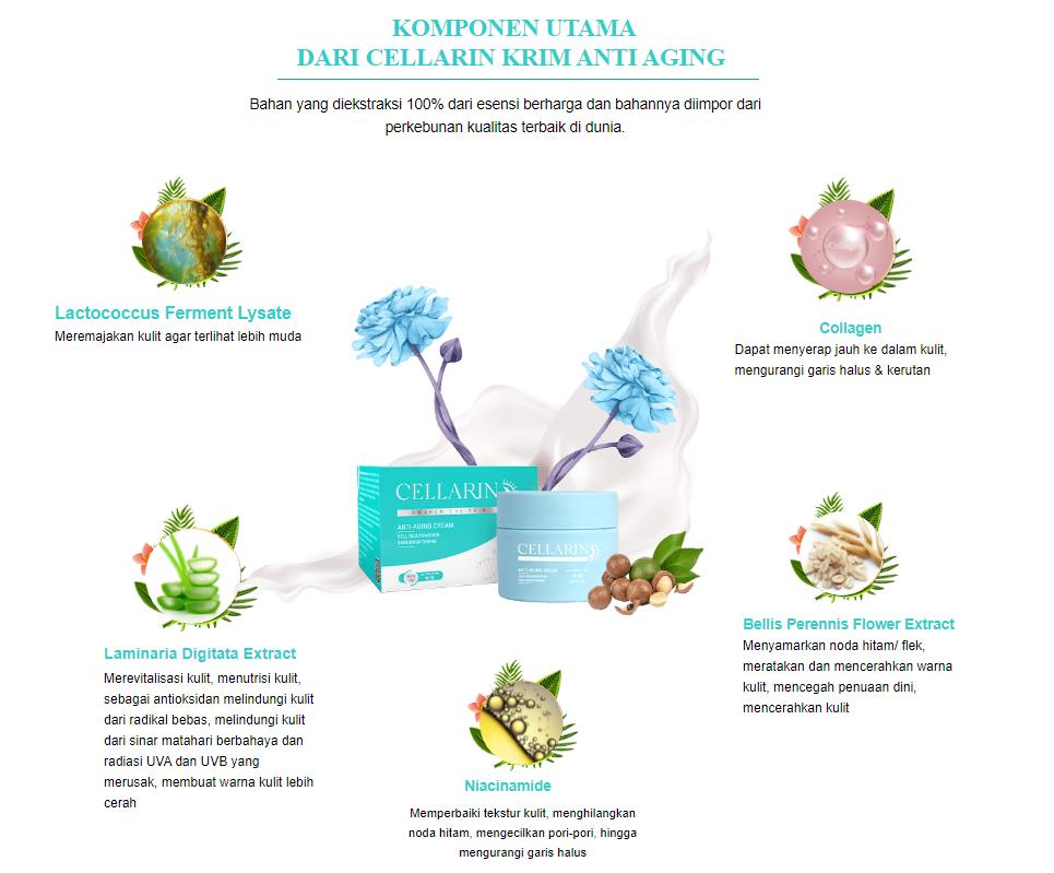 Cellarin ingredients
