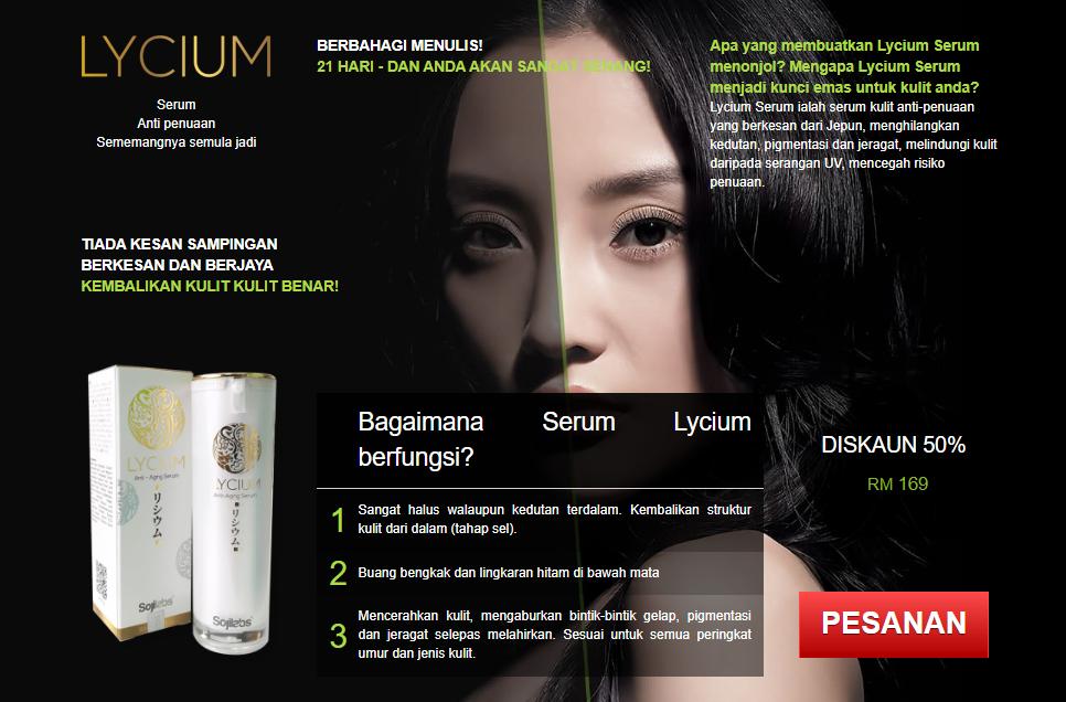 Lycium Serum