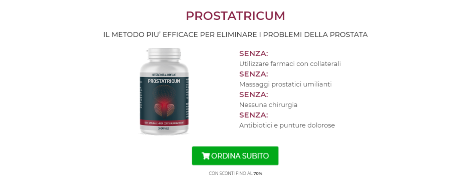 Prostatricum Prezzo
