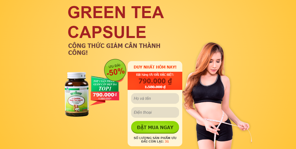 L-Carnitine Green Tea