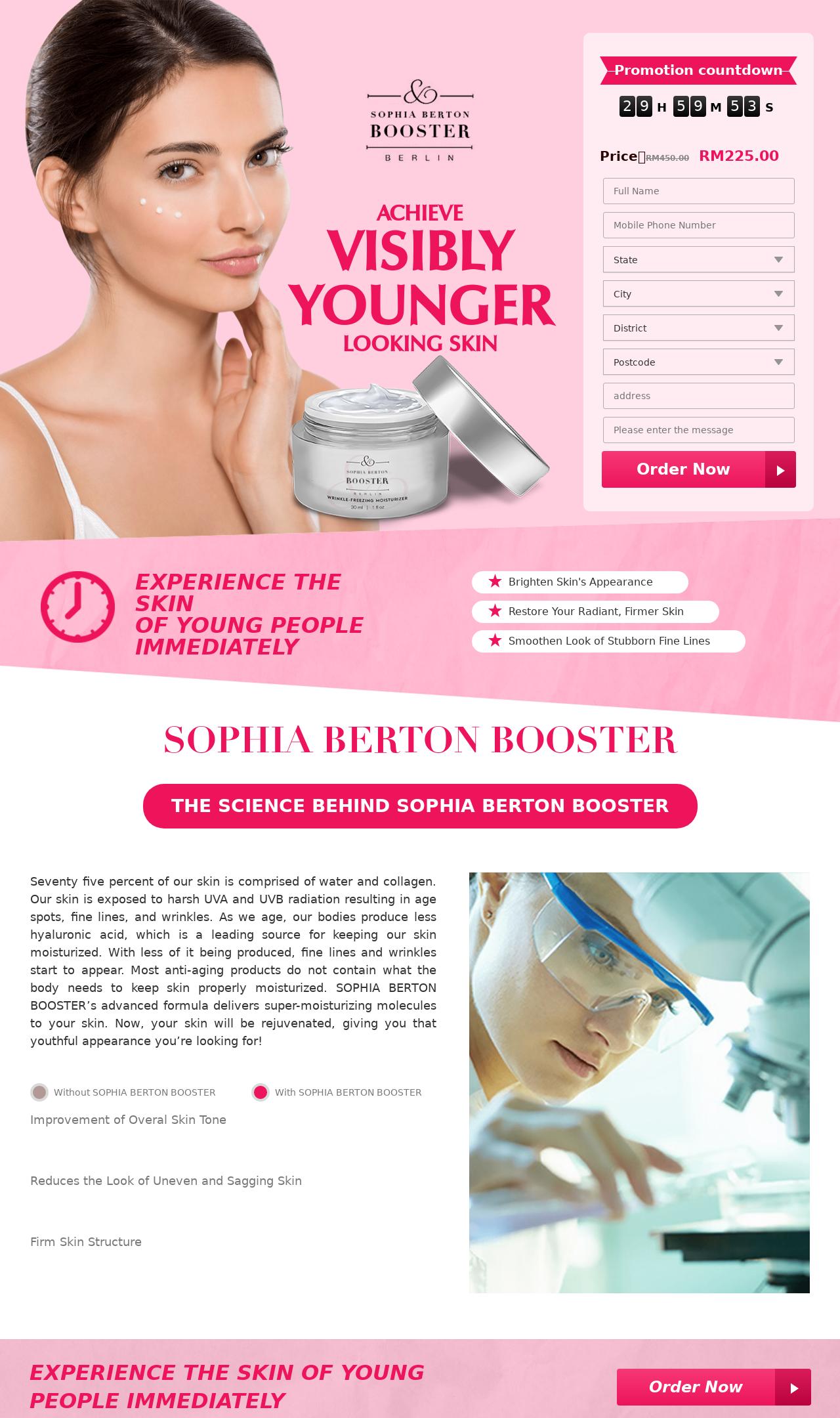 Sophia Berton Booster