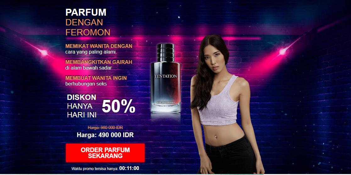 Tentation Perfume