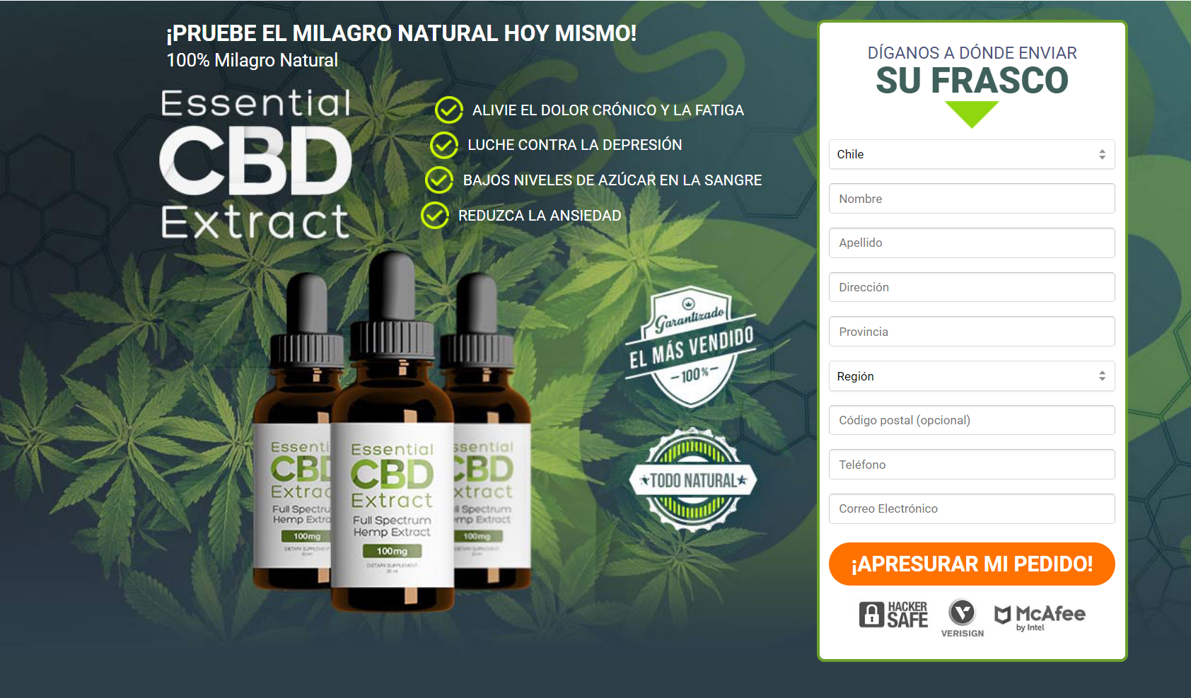 essential ebd extract chile buy
